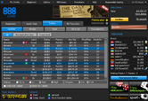 Screenshot 888 Poker Lobby