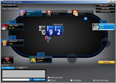 Screenshot 888 Poker Table