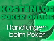 Handlungen beim Poker